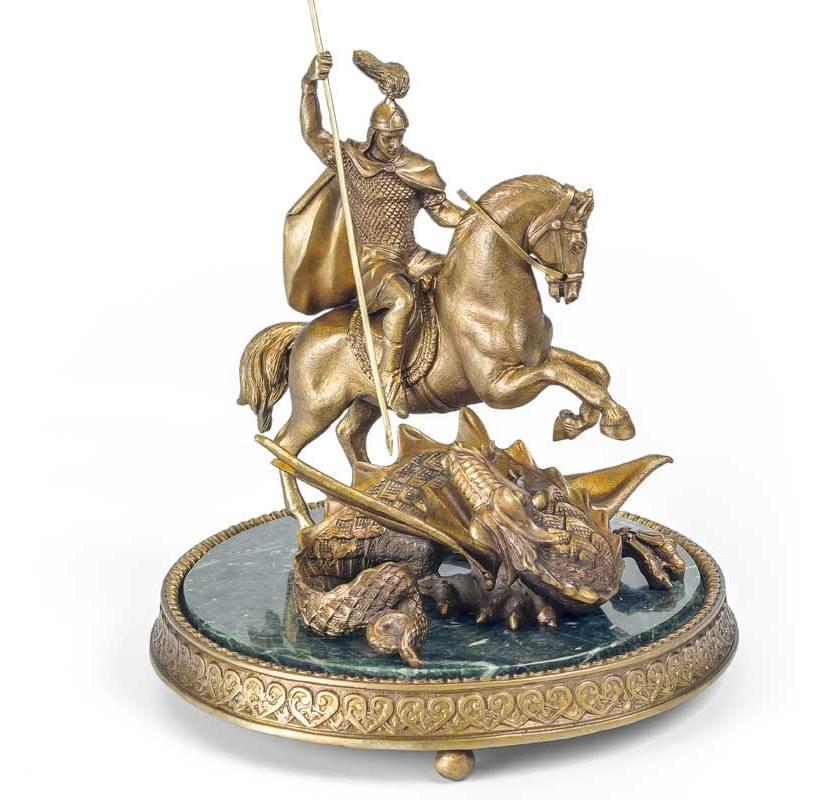 Скульптурная композиция «Георгий Победоносец» от 30 450 руб