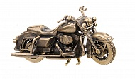 "Бронзовый мотоцикл ""Harley Davidson Road King"""